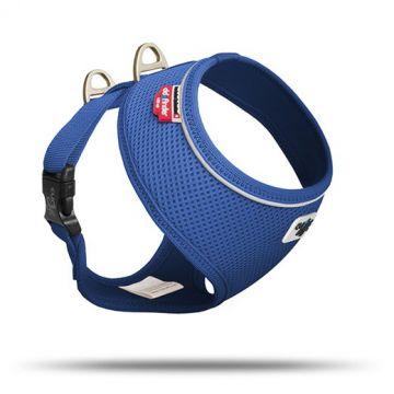 Curli Basic Geschirr Air-Mesh Blau S