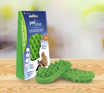 Pet&Me Bürste grün
