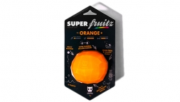 Super Fruitz & Veggiez - Feed & Treat Toy - The Orange