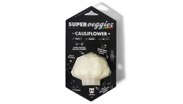 Super Fruitz & Veggiez - Feed & Treat Toy - The Cauliflower