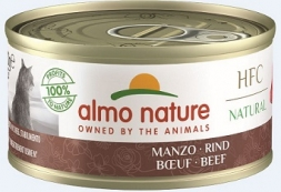 Almo Nature Classic - Rind 70g (Menge: 24 je Bestelleinheit)