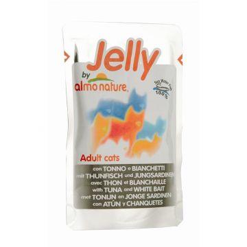 Almo Nature Jelly Pouch Thunfisch & Jungsardinen 70g (Menge: 24 je Bestelleinheit)