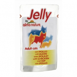 Almo Nature Jelly Pouch Huhn 70g (Menge: 24 je Bestelleinheit)