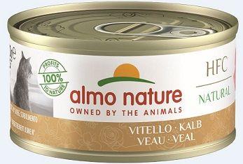 Almo Nature Classic - Kalb 70g (Menge: 24 je Bestelleinheit)