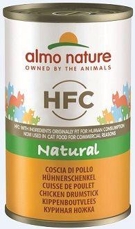 Almo Nature HFC Natural Hühnerschenkel 140g (Menge: 24 je Bestelleinheit)