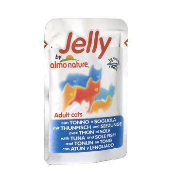 Almo Nature Jelly Pouch Thunfisch & Seezunge 70g (Menge: 24 je Bestelleinheit)