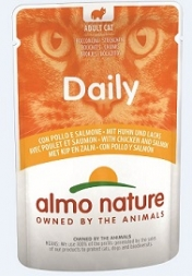 Almo Nature Daily Menu Huhn & Lachs 70g (Menge: 30 je Bestelleinheit)