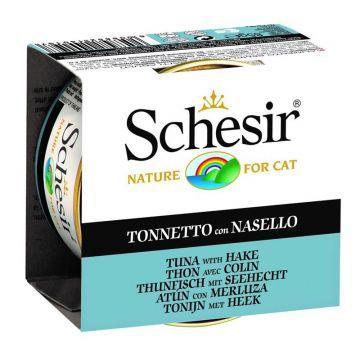 Schesir Cat Jelly Thunfisch/Seehecht 85g (Menge: 24 je Bestelleinheit)