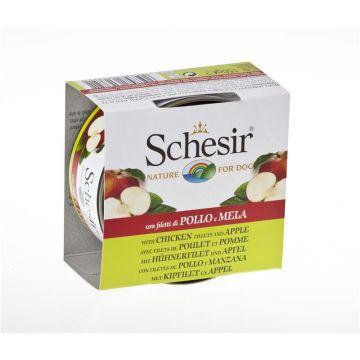 Schesir Dog Fruit Huhn mit Apfel 150g (Menge: 18 je Bestelleinheit)