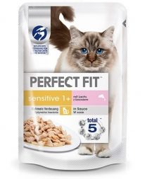 Perfect Fit Cat Portionsbeutel Sensitive Huhn 85g (Menge: 12 je Bestelleinheit)