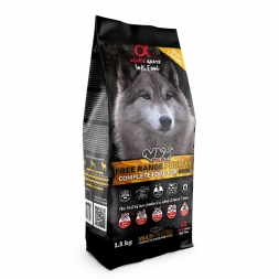 alpha spirit Dog Complete Soft Food Freiland-Geflügel 1,5kg