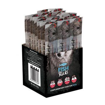 alpha spirit Dog Individual Stick Fisch 30er-Box