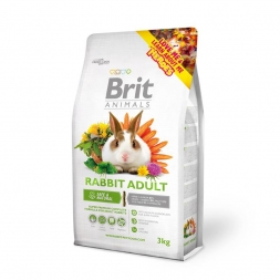 Brit Animals Rabbit Adult Complete 3 kg