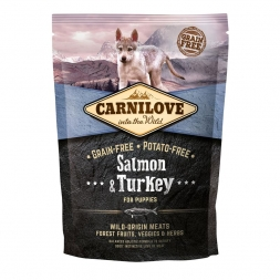 Carnilove Dog Puppy - Salmon & Turkey 1,5kg