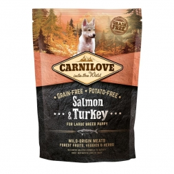 Carnilove Dog Puppy Large Breed - Salmon & Turkey 1,5kg
