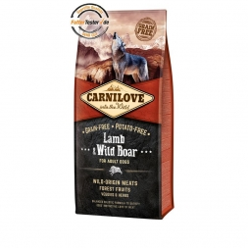 Carnilove Dog Adult - Lamb & Wild Boar 12 kg