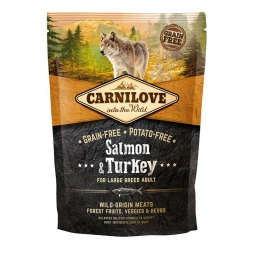 Carnilove Dog Adult Large Breed  Salmon & Turkey 1,5kg