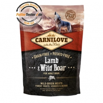 Carnilove Dog Adult - Lamb & Wild Boar 1,5 kg