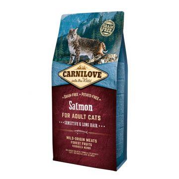 Carnilove Cat Adult - Salmon 6 kg