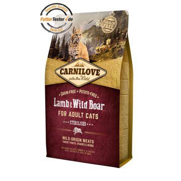 Carnilove Cat Adult - Lamb & Wild Boar 2 kg