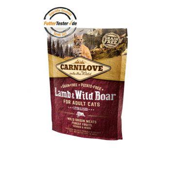 Carnilove Cat Adult - Lamb & Wild Boar 400 g
