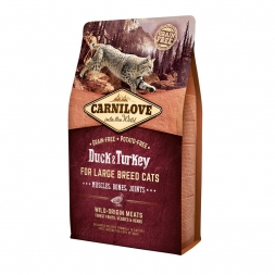 Carnilove Cat Adult Large Breed  - Duck & Turkey 2 kg