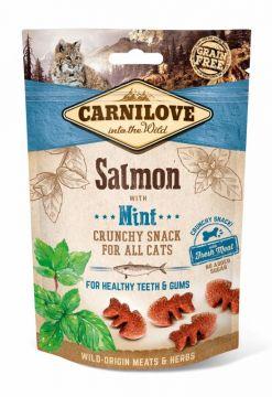 Carnilove Cat Crunchy Snack - Salmon with Mint 50g (Menge: 10 je Bestelleinheit)