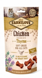 Carnilove Cat Soft Snack - Chicken with Thyme 50 g (Menge: 12 je Bestelleinheit)