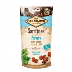 Carnilove Cat Soft Snack - Sardine with Parsley 50 g (Menge: 12 je Bestelleinheit)