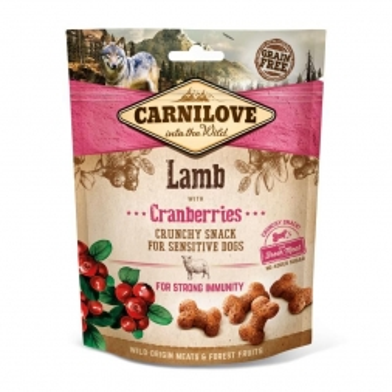 Carnilove Dog Crunchy Snack - Lamb/Cranberries 200g (Menge: 6 je Bestelleinheit)