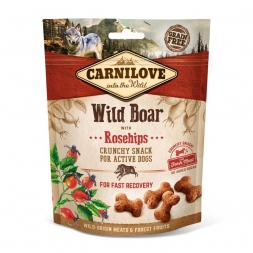Carnilove Dog Crunchy Snack - Wild Boar with Rosehips 200 g (Menge: 6 je Bestelleinheit)