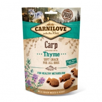 Carnilove Dog Soft Snack - Carp with Thyme 200g (Menge: 10 je Bestelleinheit)