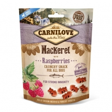 Carnilove Dog Crunchy Snack - Mackerel with Raspberries 200 g (Menge: 6 je Bestelleinheit)