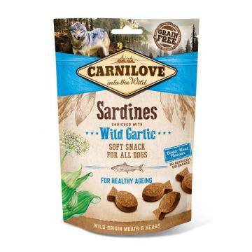 Carnilove Dog Soft Snack - Sardines with Wild Garlic 200 g (Menge: 10 je Bestelleinheit)