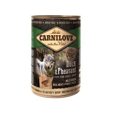 Carnilove Dog Dose - Adult - Duck & Pheasant  400g (Menge: 6 je Bestelleinheit)