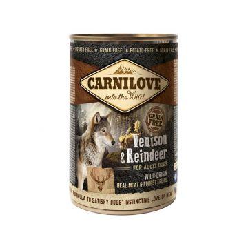 Carnilove Dog Dose - Adult - Venison & Reindeer 400g (Menge: 6 je Bestelleinheit)