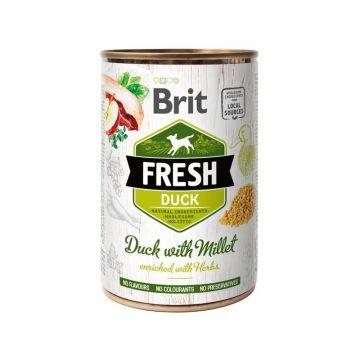 Brit Fresh - Duck with Millet/ Ente mit Hirse 400g (Menge: 6 je Bestelleinheit)