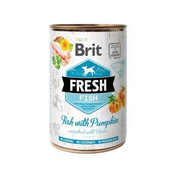 Brit Fresh - Fish with Pumpkin/ Fisch mit Kürbis 400g (Menge: 6 je Bestelleinheit)