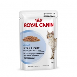 Royal Canin Frischebeutel Ultra Light in Sosse Multipack 12x85g