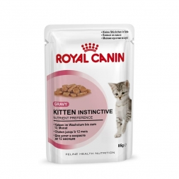Royal Canin Frischebeutel Kitten Instinctive in Sosse Multipack 12x85g