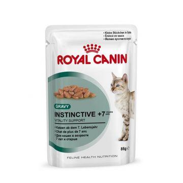 Royal Canin Frischebeutel Instinctive +7 in Sosse Multipack 12x85g