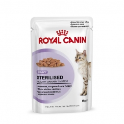 Royal Canin Frischebeutel Sterilised in Sosse Multipack 12x85g