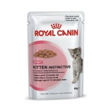 Royal Canin Feline Portionsbeutel Multipack Kitten Instinctive in Gelee 12x85g