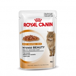 Royal Canin Feline Portionsbeutel Multipack Intense Beauty in Gelee 12x85g