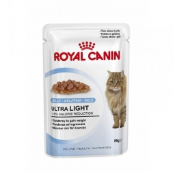 Royal Canin Feline Portionsbeutel Multipack Ultra Light in Gelee 12x85g