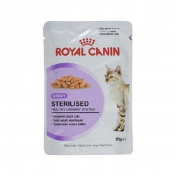 Royal Canin Feline Portionsbeutel Multipack Sterilised in Gelee 12x85g