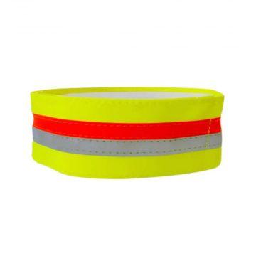 Tractive reflektierendes Halsband mit GPS-Tasche small 34-41cm