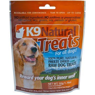 K9 Natural Lamb 50g Treats Pack