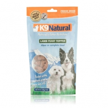 K9 Natural Topper Lamm 142 g